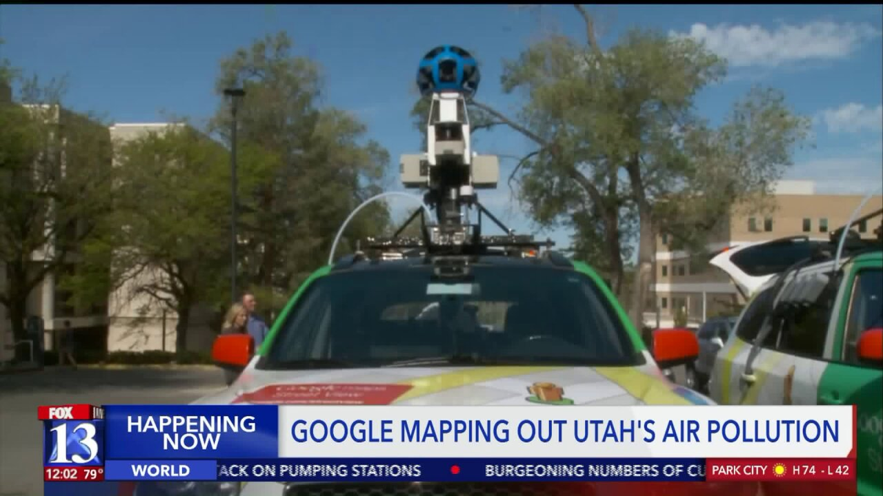 Google Street View vehicles now collecting air quality data in Salt Lake Valley