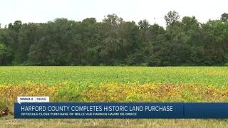 Harford county completes historic land purchase