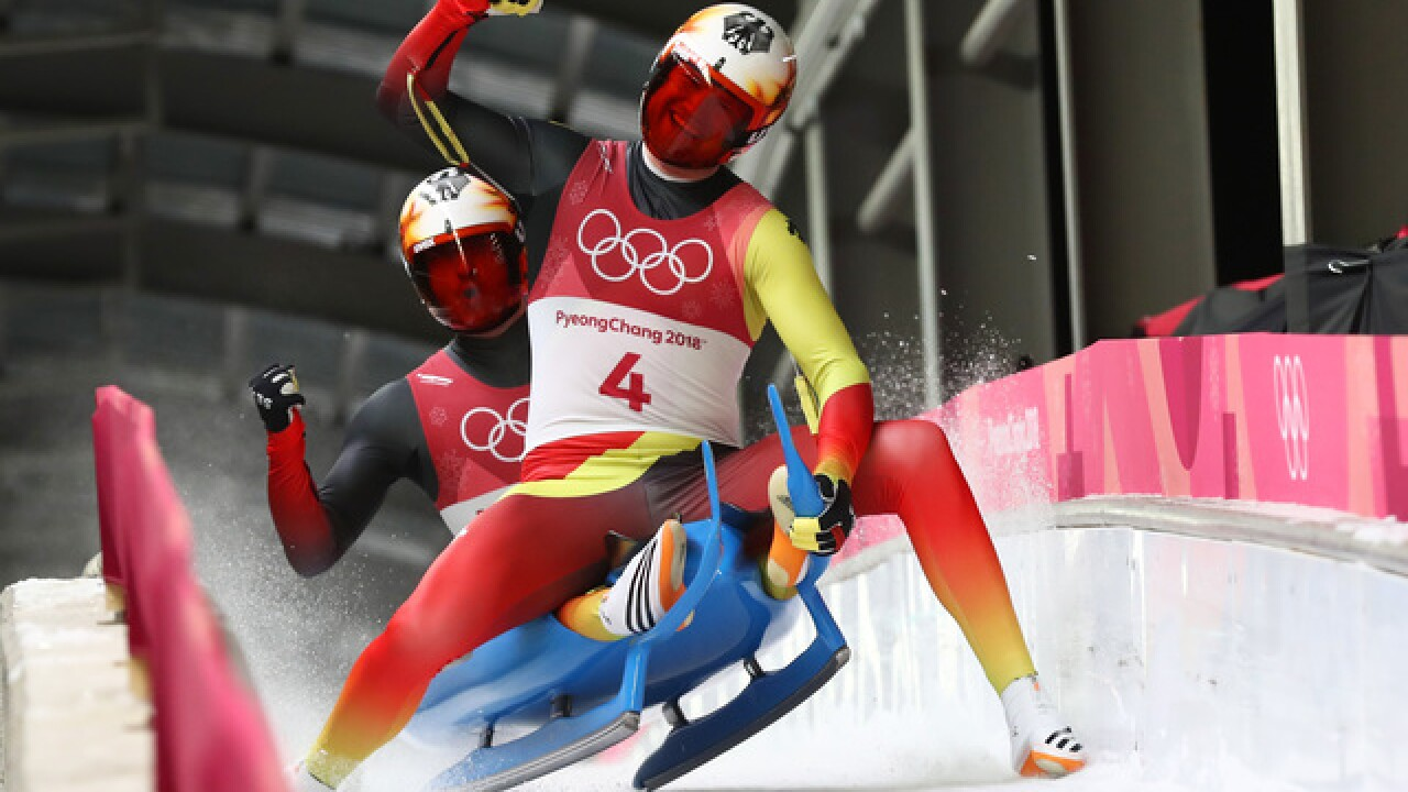 The internet loves Olympic luge