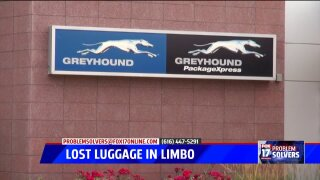 Man seeking return of lost luggage from Greyhound for over a year
