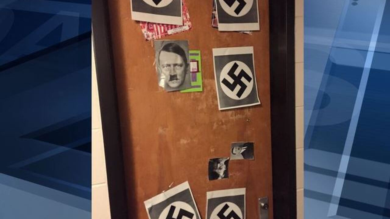 UW student posts swastikas, Hitler on dorm door