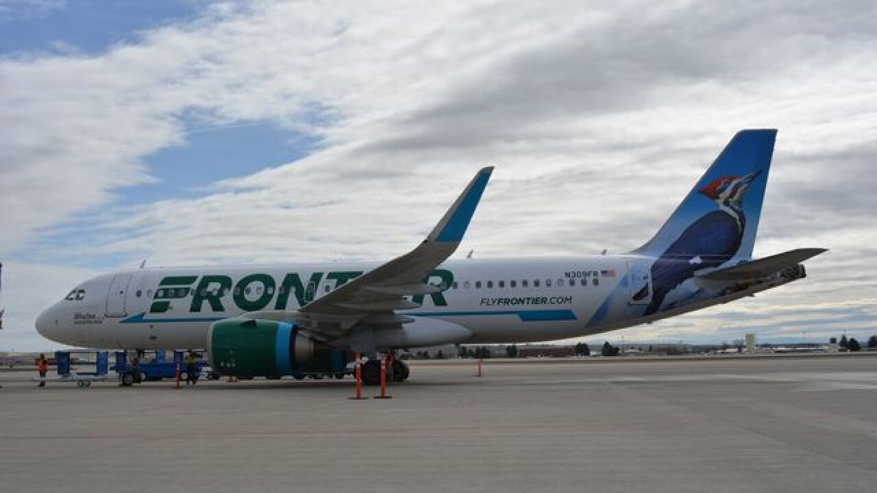 Frontier Airlines returns to Boise airport