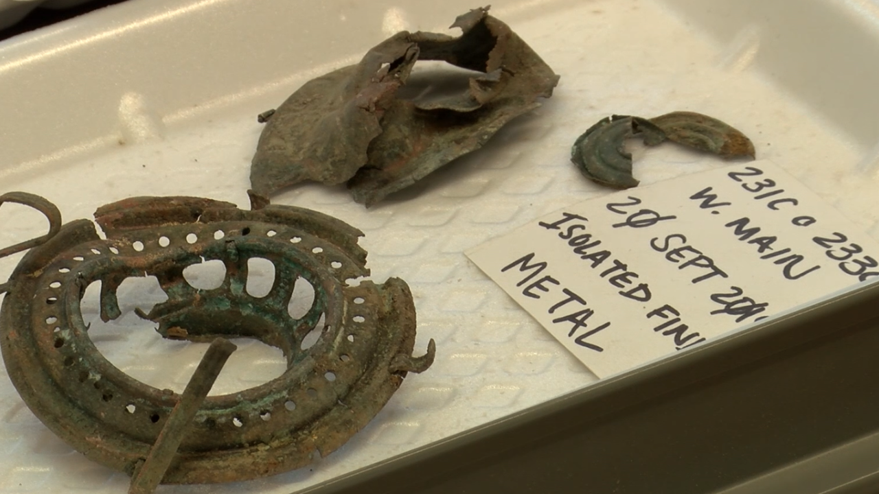 UM archeologists cataloging pieces of downtown Missoula's history