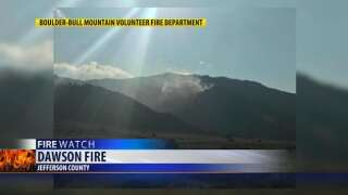 Wildland fire south of Boulder is 75 percent contained