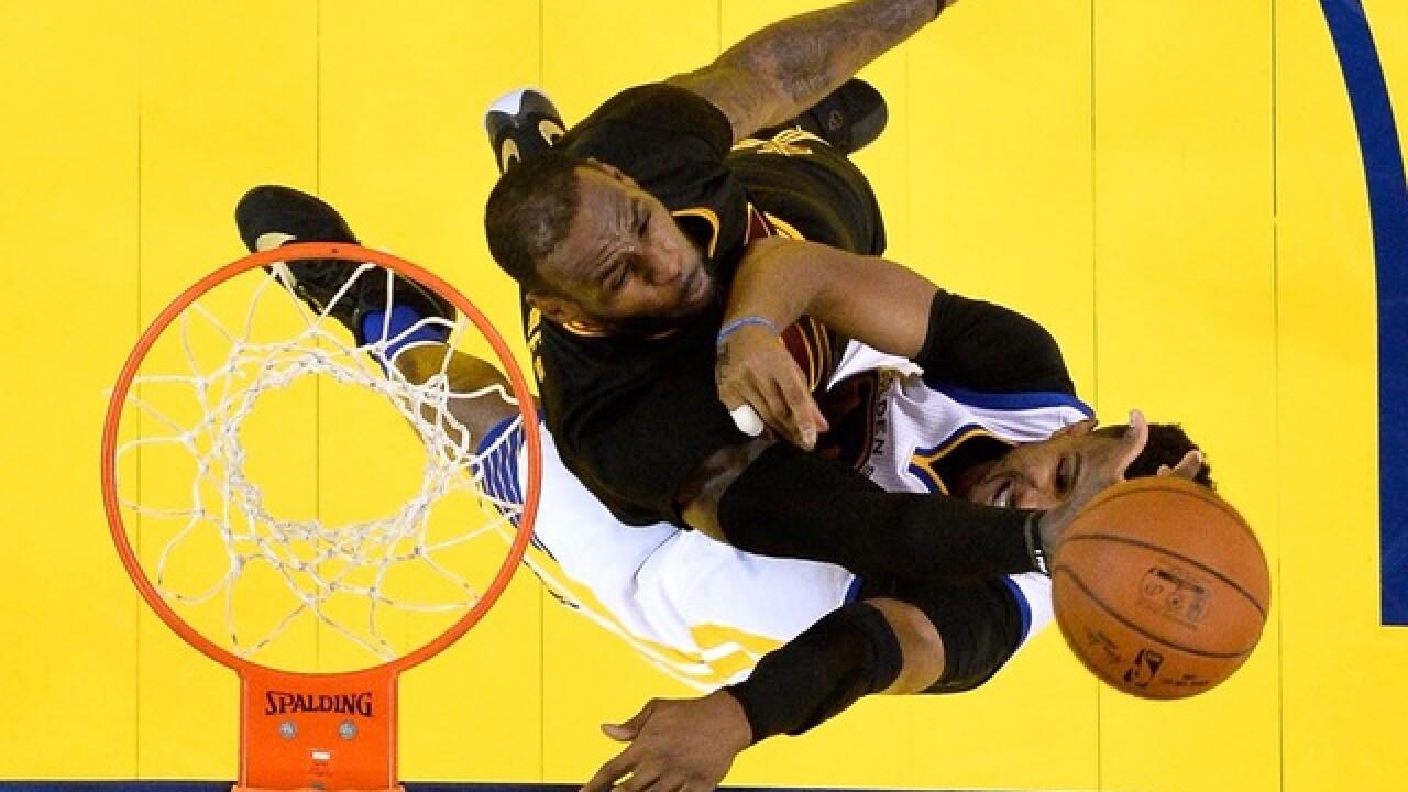 Cavs fend off Warriors to claim NBA Championship