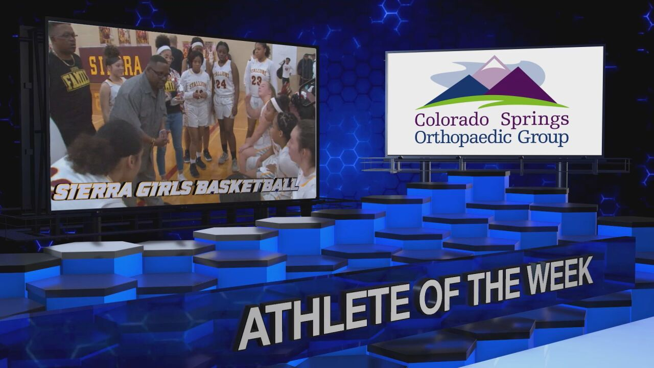KOAA Athlete of the Week: Sierra Girls Basketball