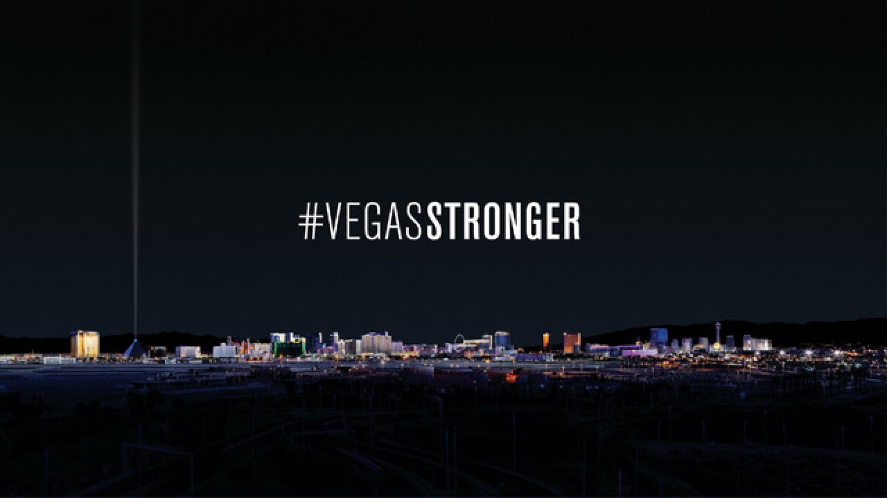 Las Vegas strip to go dark for shooting victims