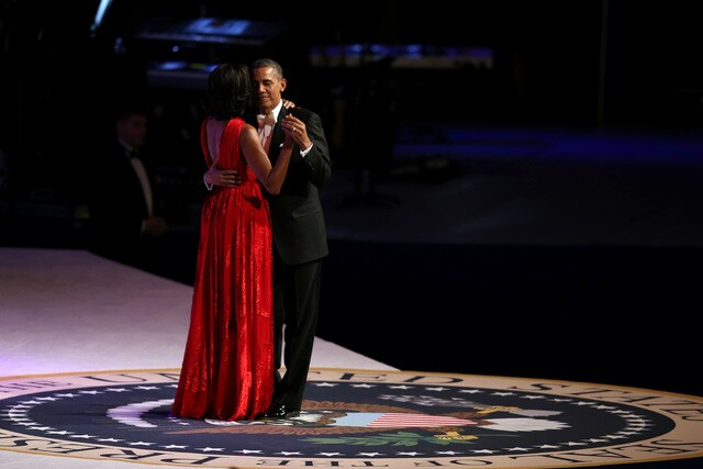 First Lady inaugural ball gowns