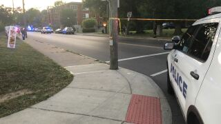 Pedestrian struck Forest ave