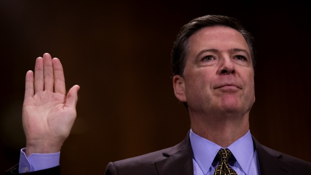Ex-FBI director James Comey to testify June 8 before Senate Intelligence Committee