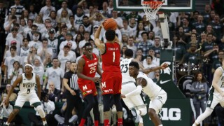 Anthony Cowan Jr Maryland Michigan St Basketball