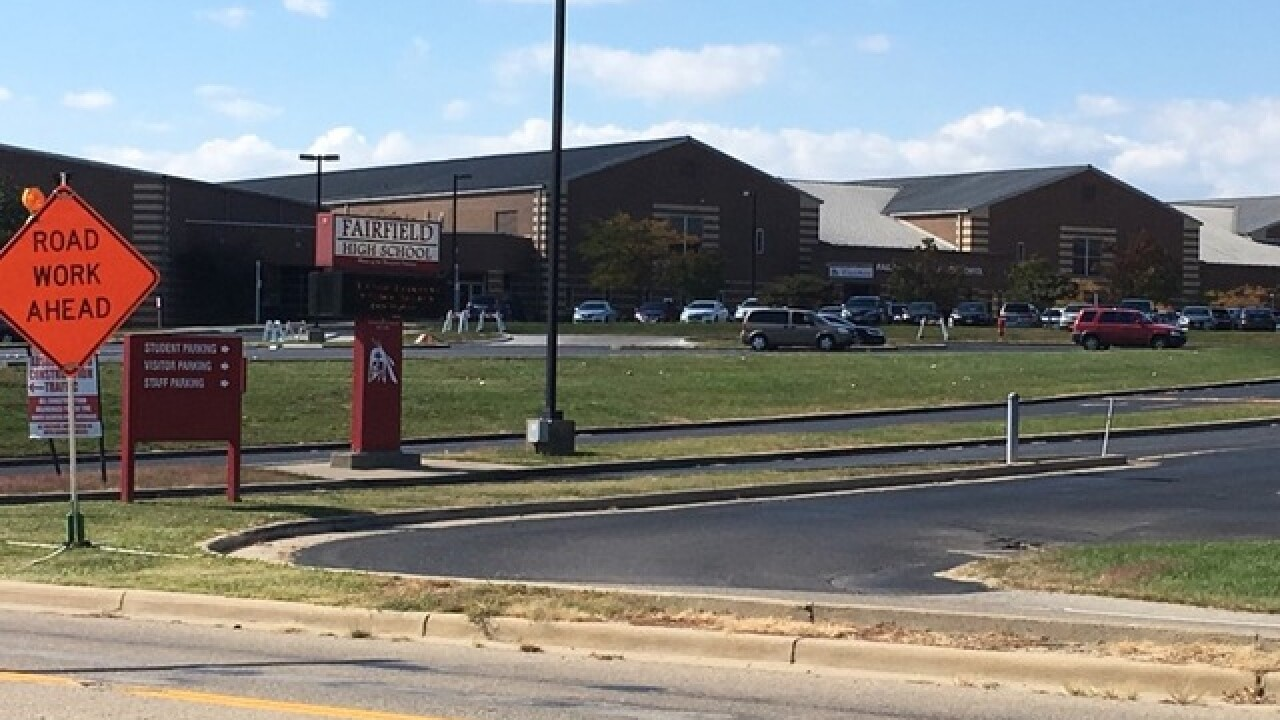 Pair of suspected trespassers force lockdown at Fairfield High School
