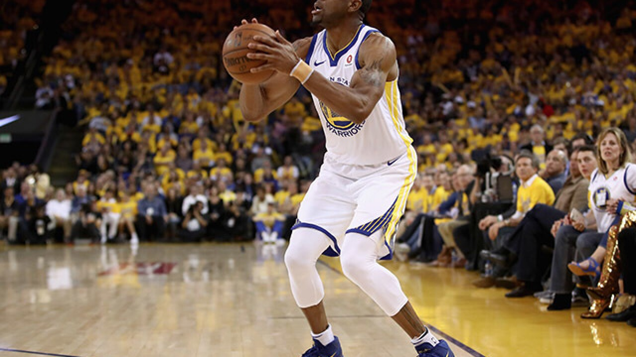 Warriors forward and relentless Cavs killer Andre Iguodala out for Game 1