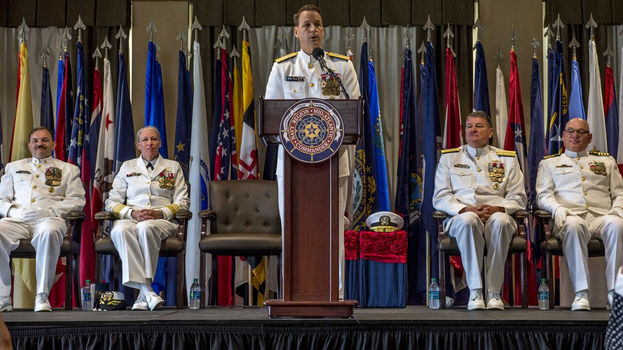Nayv Region Mid-Atlantic changes command