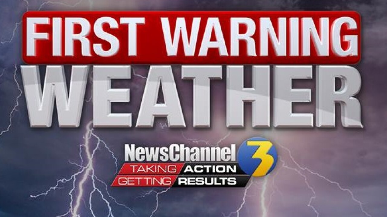 First Warning Forecast: Tracking more storms for part of the weekend