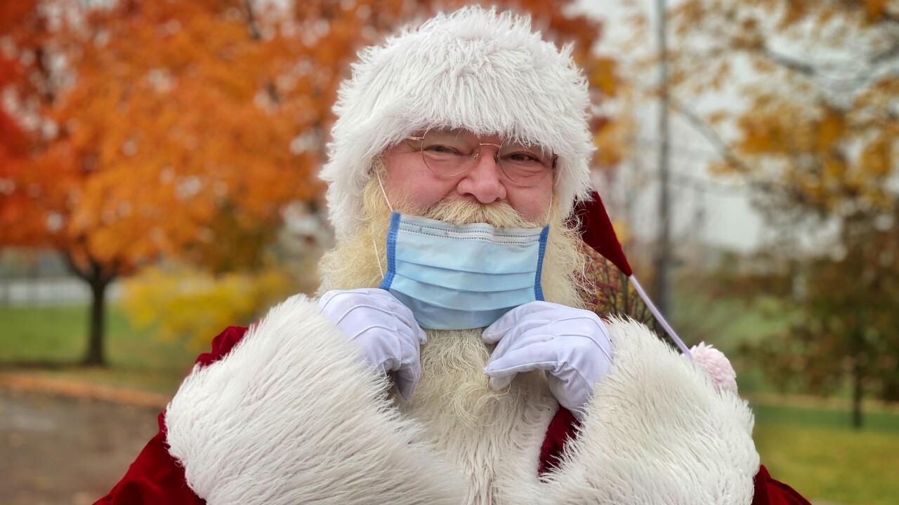 Pandemic Santa