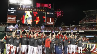 DC team back in World Series for first time in 86 years, Nationals sweep Cardinals in NL Championship Series