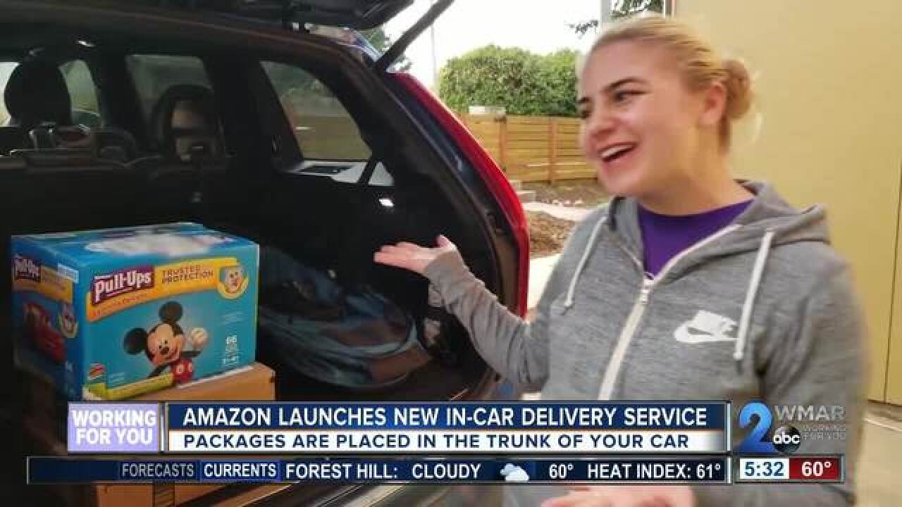 Amazon offers new solution to package theft