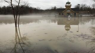 Winton Woods flooding