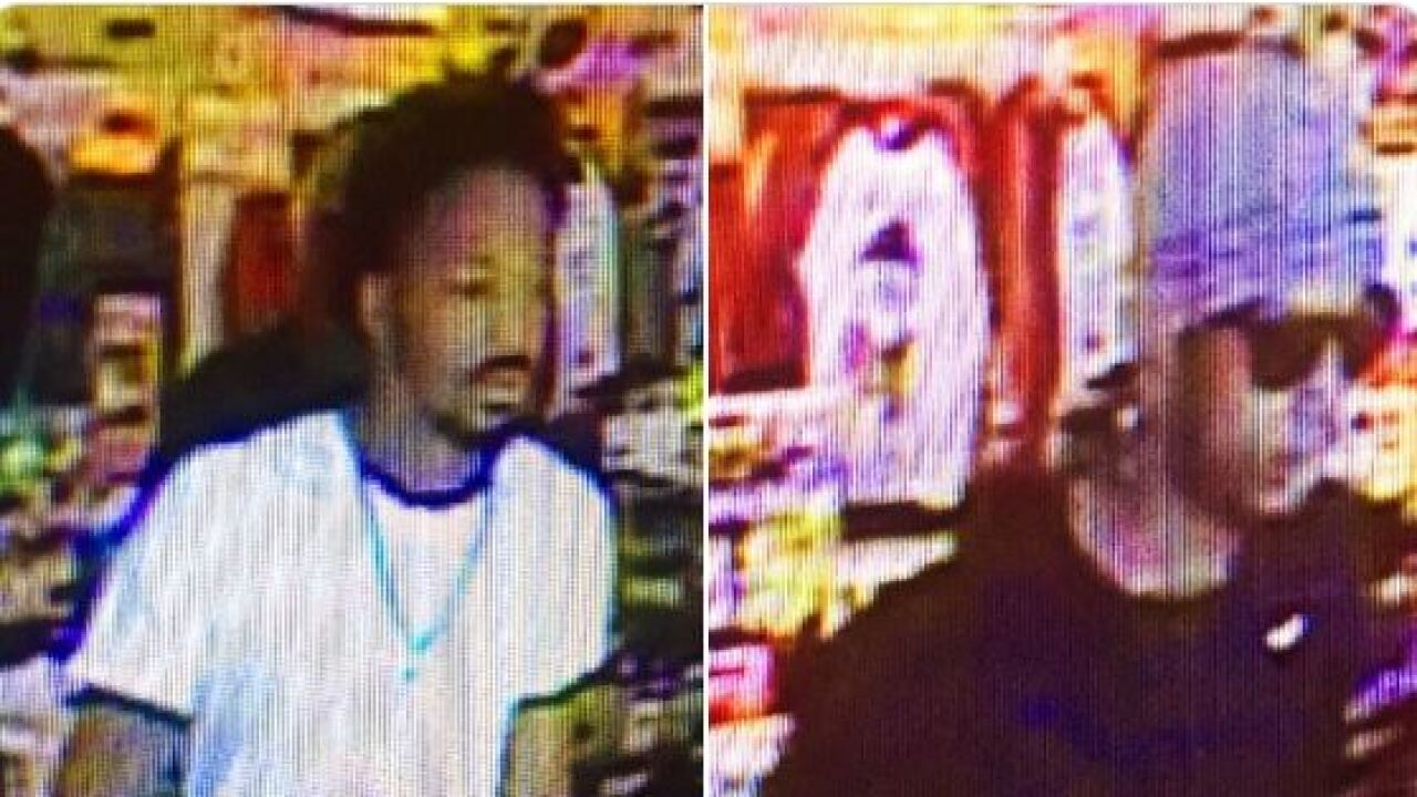 Tucson police are looking for two men they say robbed a dollar store.