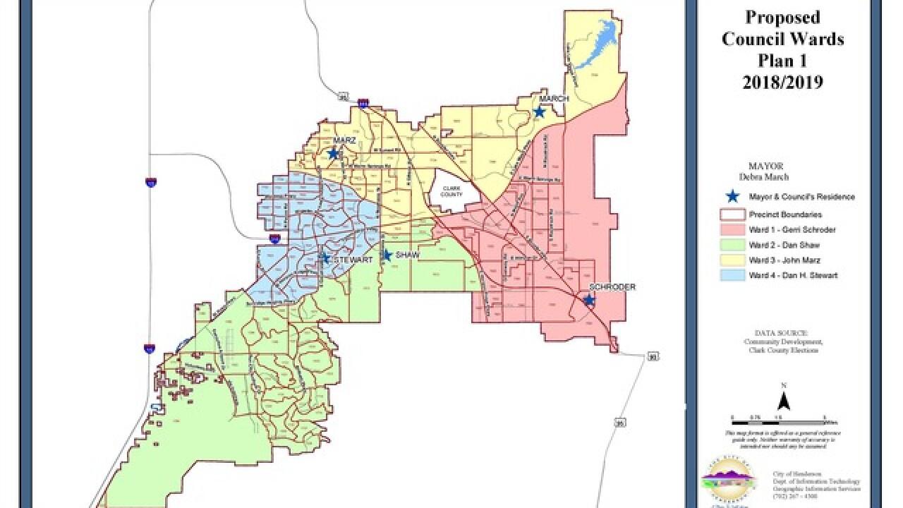 Henderson may change council ward boundaries