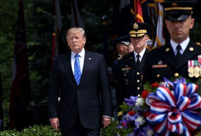 Photo gallery: President Trump visits Arlington for Memorial Day