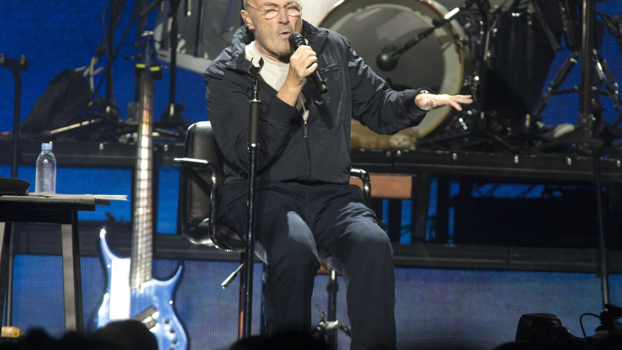 Phil Collins' worsening health is keeping him from drumming