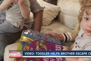 Video showing Franklin boy helping younger brother escape crib gets national attention