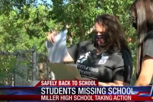 Miller High School seeks missing students
