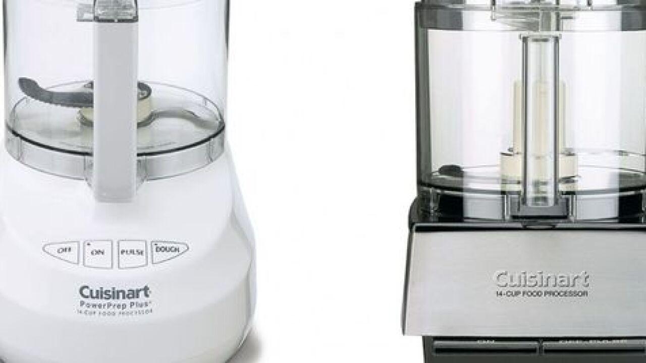Cuisinart food processors recalle