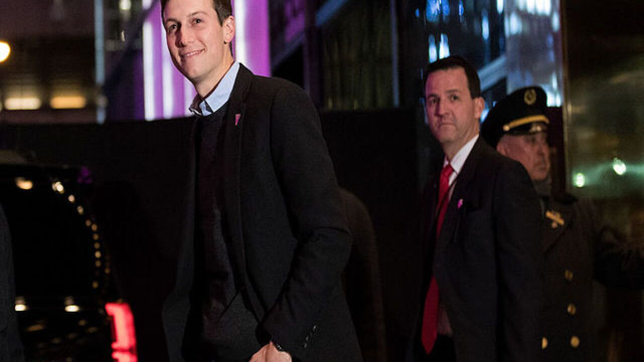 Trump's son-in-law named senior advisor to the president