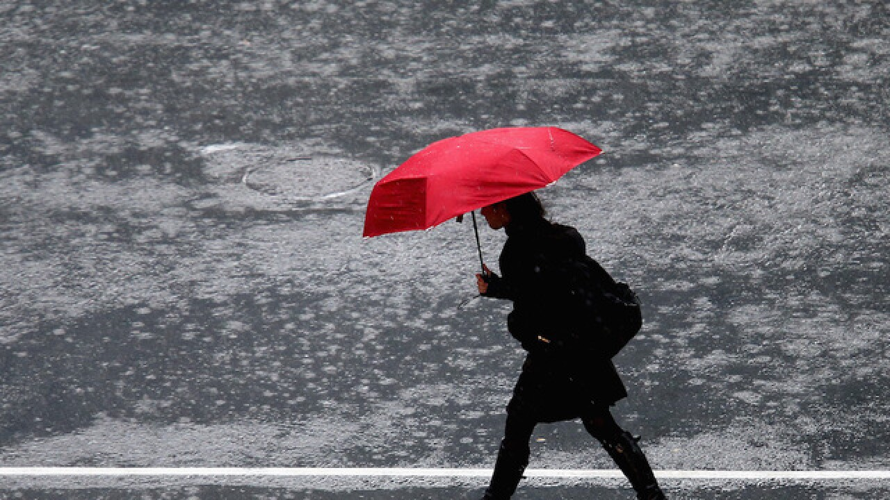 The Old Farmer's Almanac releases 2017 forecast rain umbrella wet weather