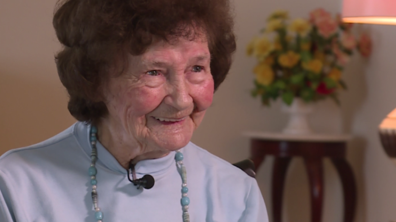 107-year-old Virginia woman educated in tobacco fields shares lessons onlife