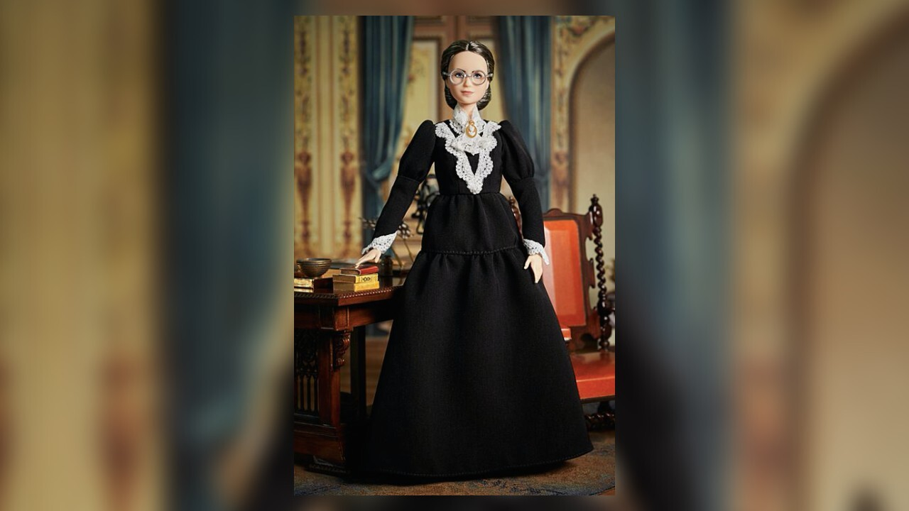 Mattel adds Susan B. Anthony Barbie to its 'Inspiring Women' collection