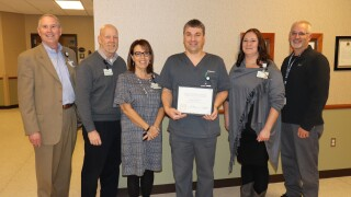James Parsons, Caregiver of the Month