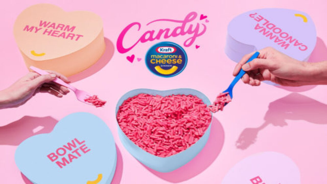 You Could Win A Box Of Hot Pink, Candy-flavored Kraft Macaroni & Cheese