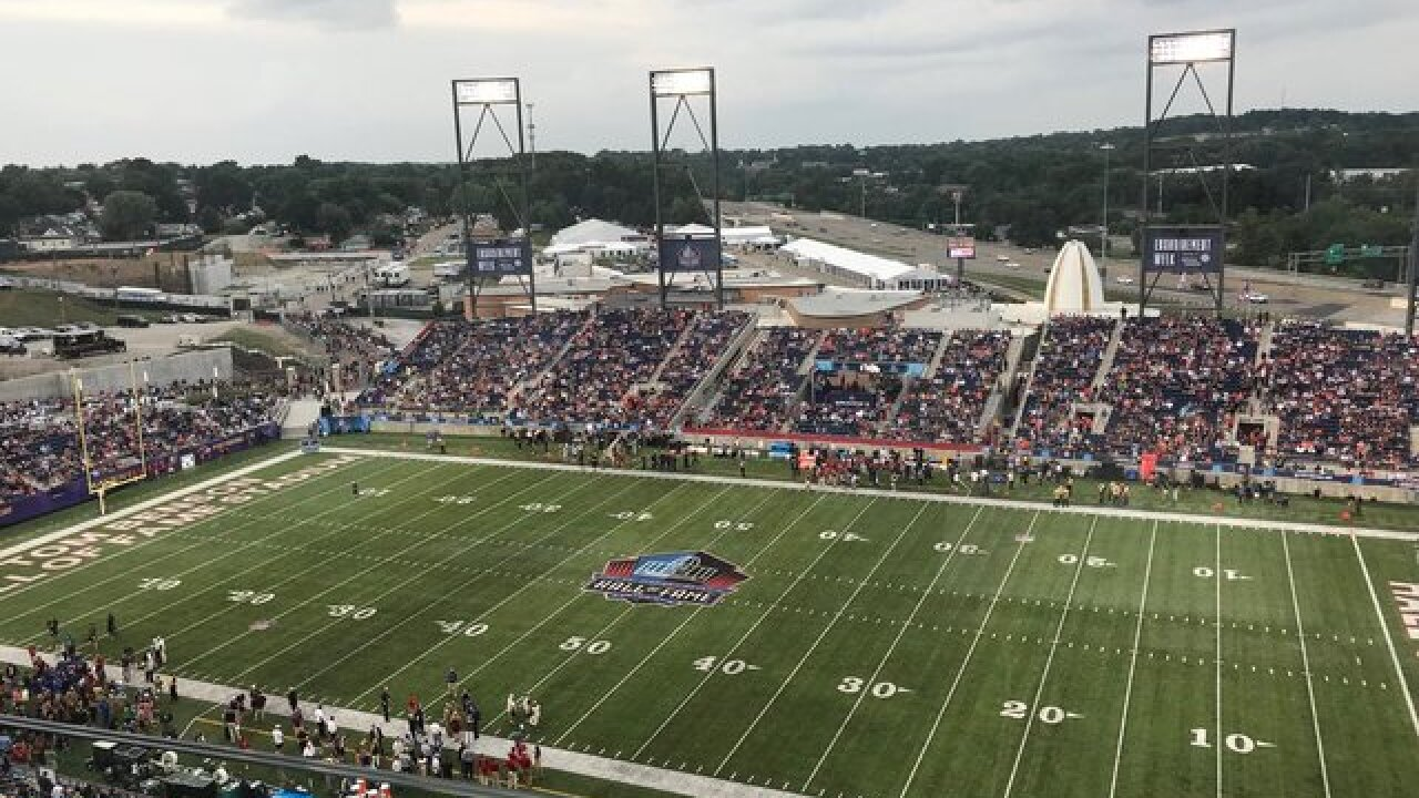 Ravens beat Bears 17-16 in Hall of Fame Game