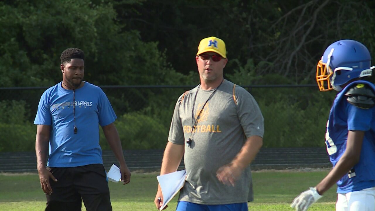 Final Score Friday 2019 Football Preview: Hopewell Blue Devils