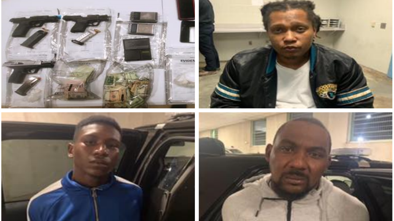 3 men arrested in drugs and guns bust in Petersburg