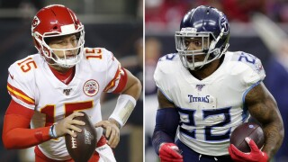 Titans Chiefs Matchups Football
