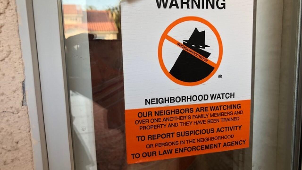Neighborhood Watch Groups decrease crime