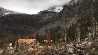 Sperry Chalet rebuild on track for October finish, GNP officials say