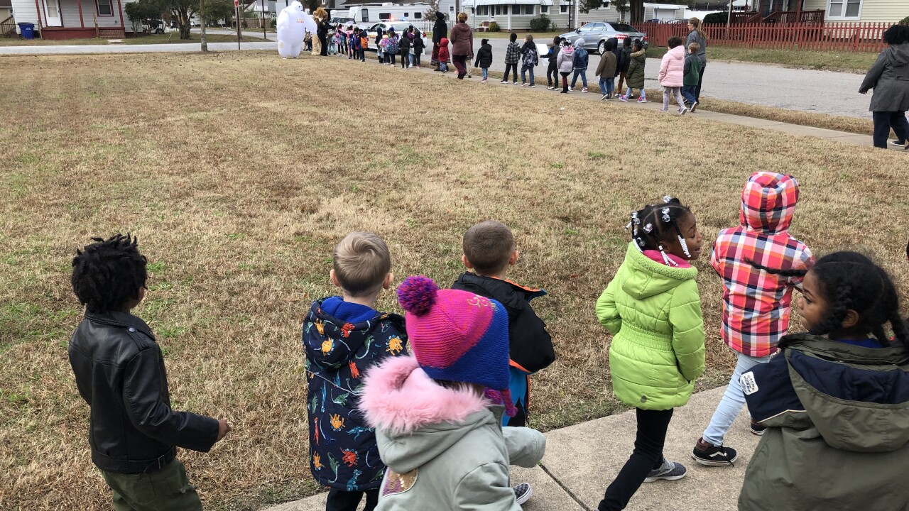 Portsmouth elementary school students take action againstbullying