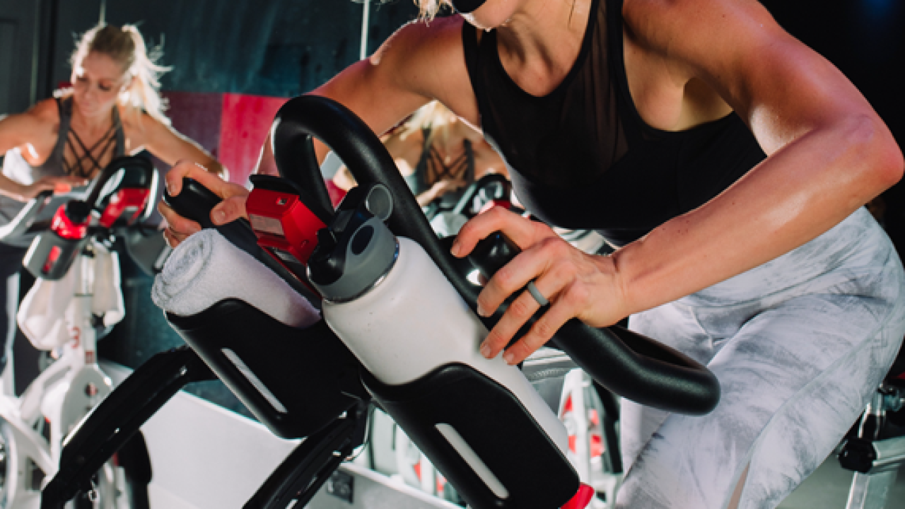 Refocus your new year's fitness goals with a cycling class