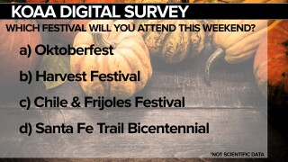 KOAA Survey: Which festival will you attend this year?