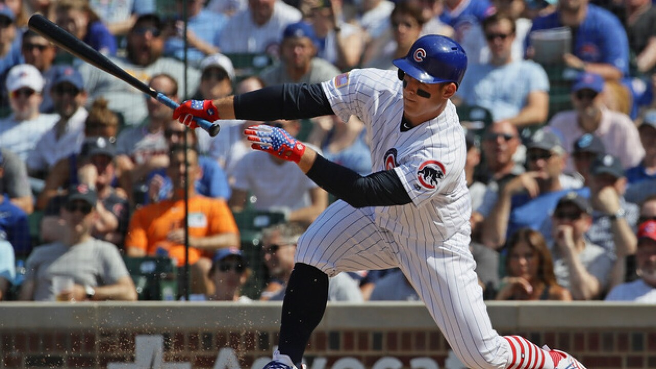 Anthony Rizzo, Kyle Schwarber lead Cubs to victory over Tigers