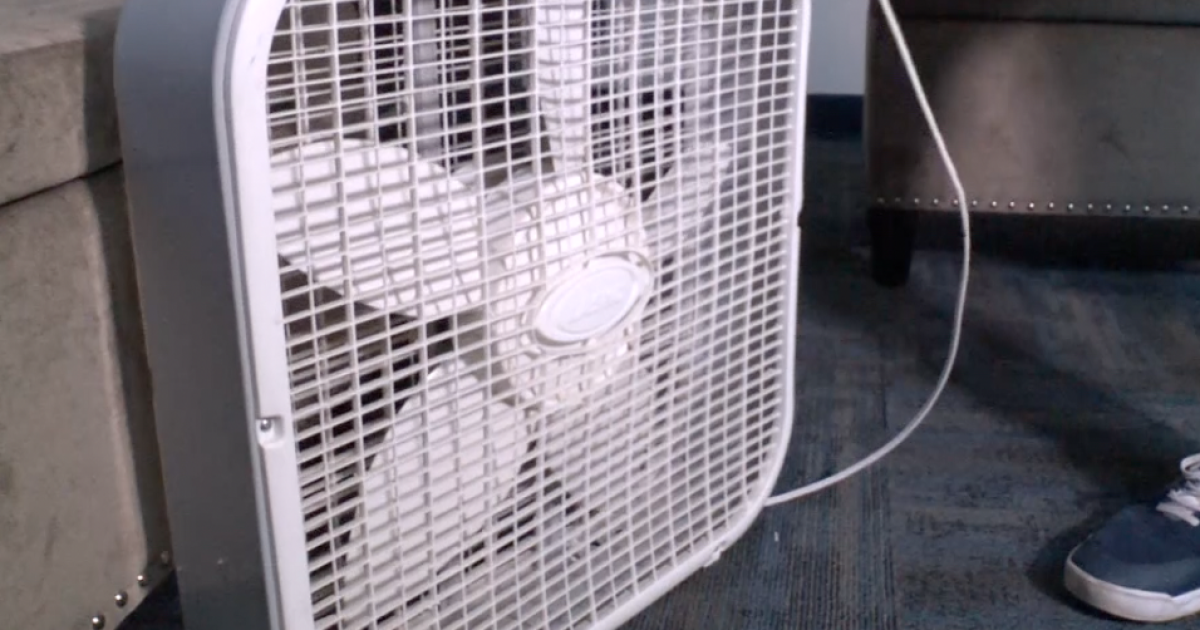 Doctors say avoid box fans in this heatwave, it could make things worse