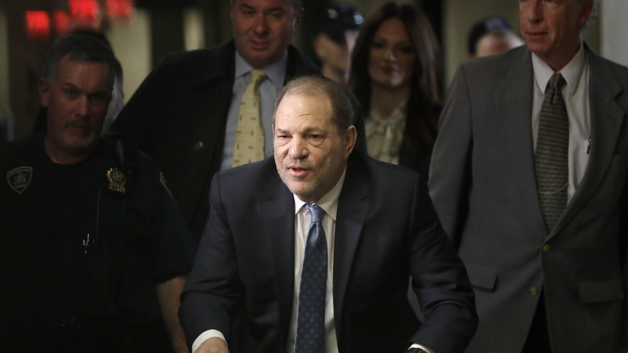 Judge rejects tentative $19M Weinstein deal with accusers