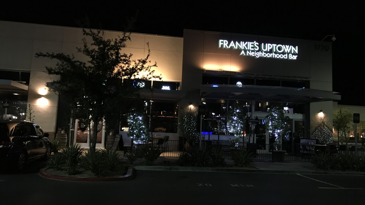 Frankie's Uptown is a bar located inside Downtown Summerlin across from the Las Vegas Ballpark