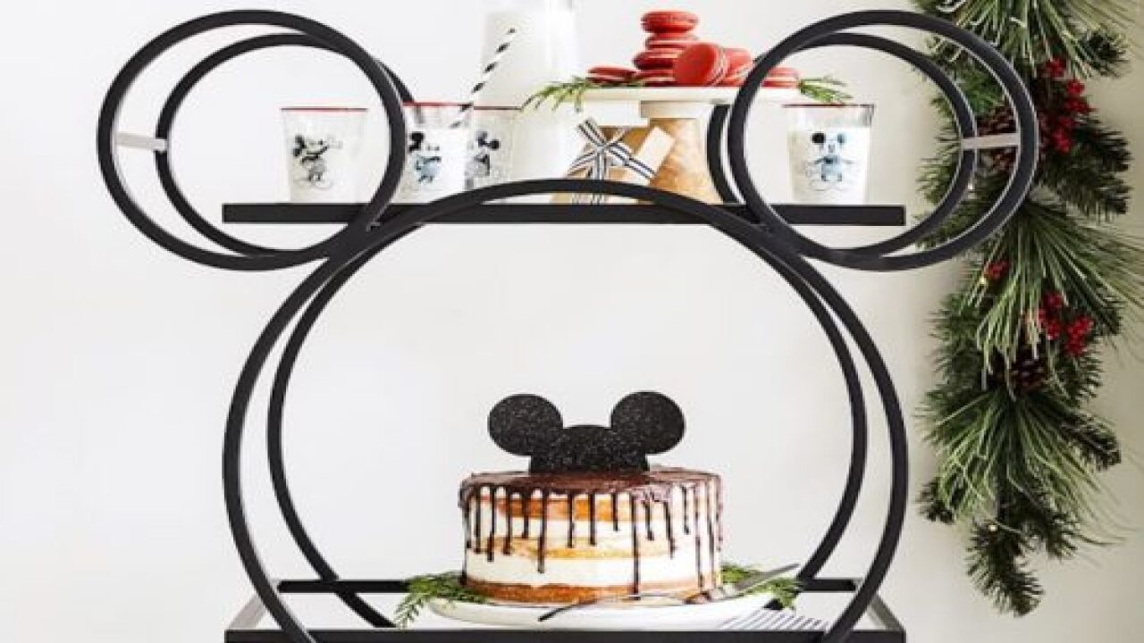 Add Some Disney Magic To Your Parties With A Mickey Mouse Serving Cart
